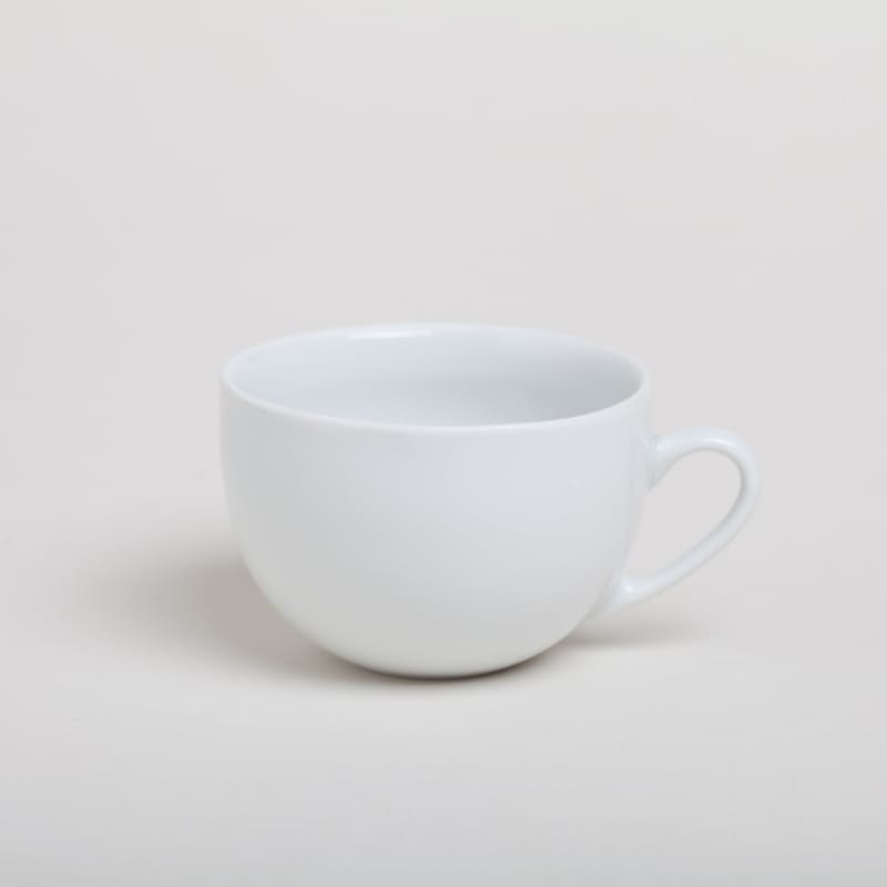 Set of 6 - Classic Porcelain Cups (Multiple Options Available)