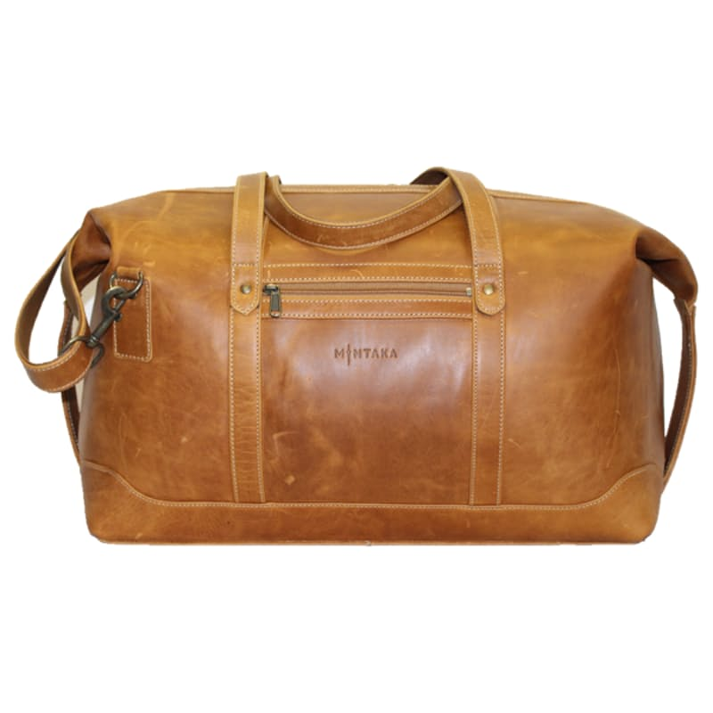 Steve Top Winged Leather Travel Bag