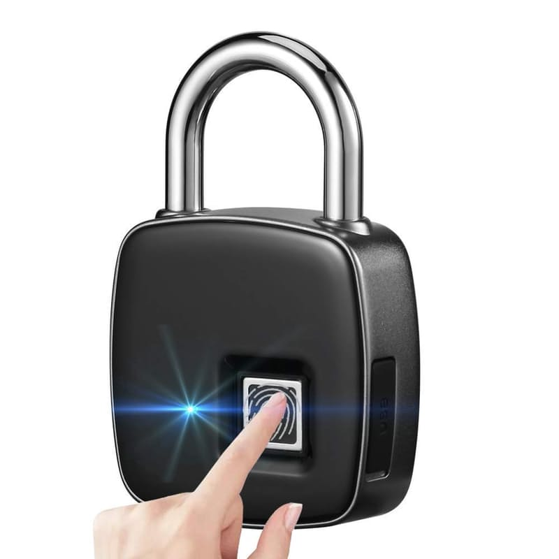 Biometric Portable Padlock with Finger Print Control