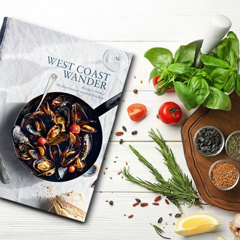 Recipes from A Mediterranean Coastal Kitchen (Hard Cover)