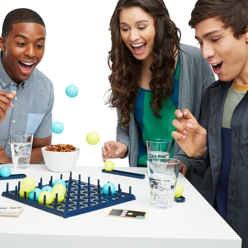 Bounce It In. Line 'em Up, Rule The Table!