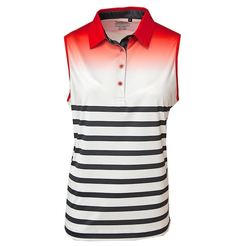 Ladies Sublimated Sleeveless Golfer Shirt