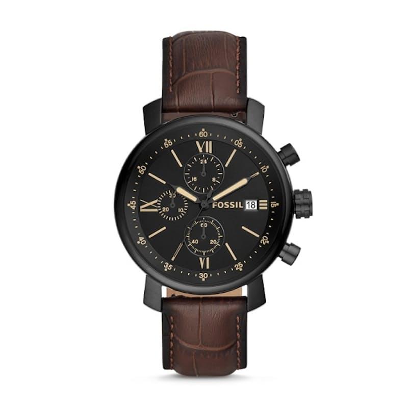 Rhett Chronograph Leather Watch