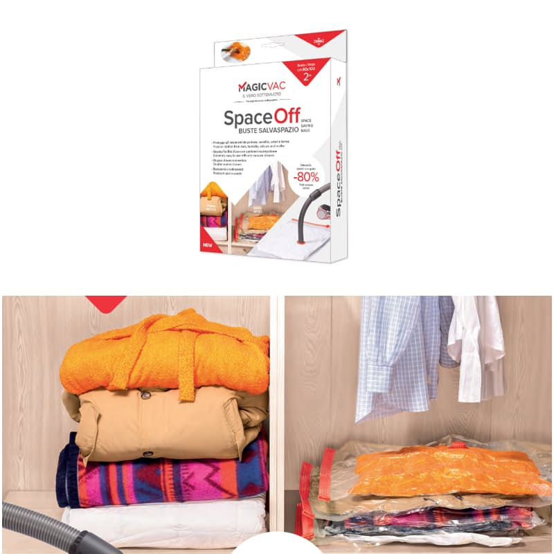 2 Piece or 7 Piece Space Saving Bags