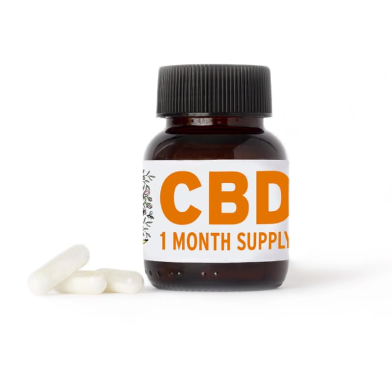30 CBD Capsules  Biodegradable Vegan Capsules