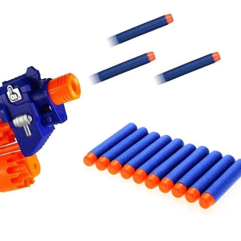 Pack of 100 Generic Replacement Bullet Darts for Nerf Guns