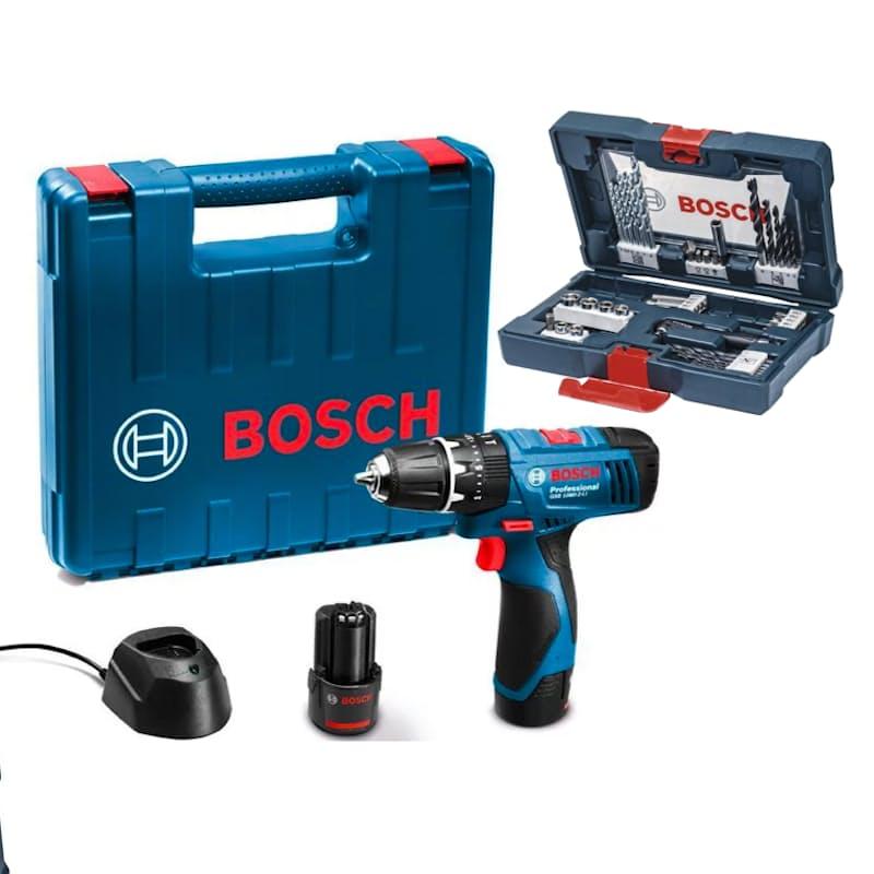 Professional GSB 120 Cordless Combi Drill + 41-Piece Accessory Set