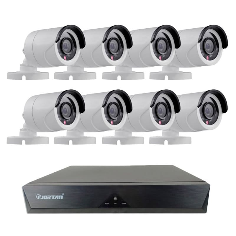 4 or 8 Channel AHD 1080P CCTV Camera Surveillance Kit