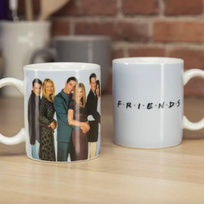 Heat-Changing Group Photo Coffee Mug