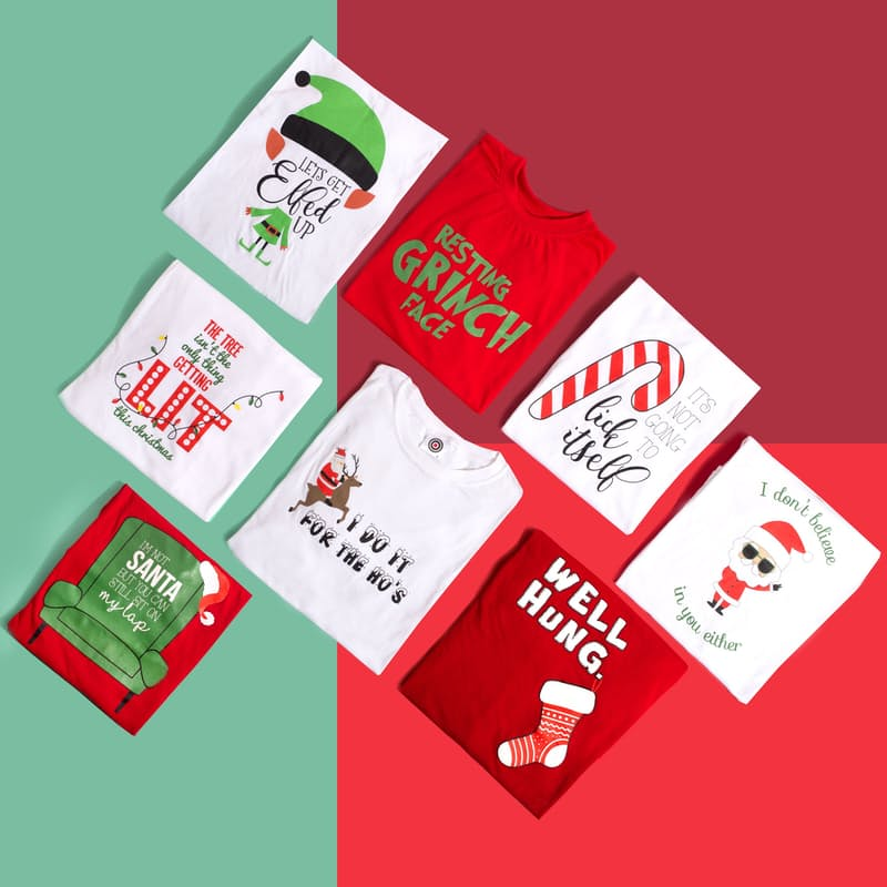 Unisex Comical Christmas Tees
