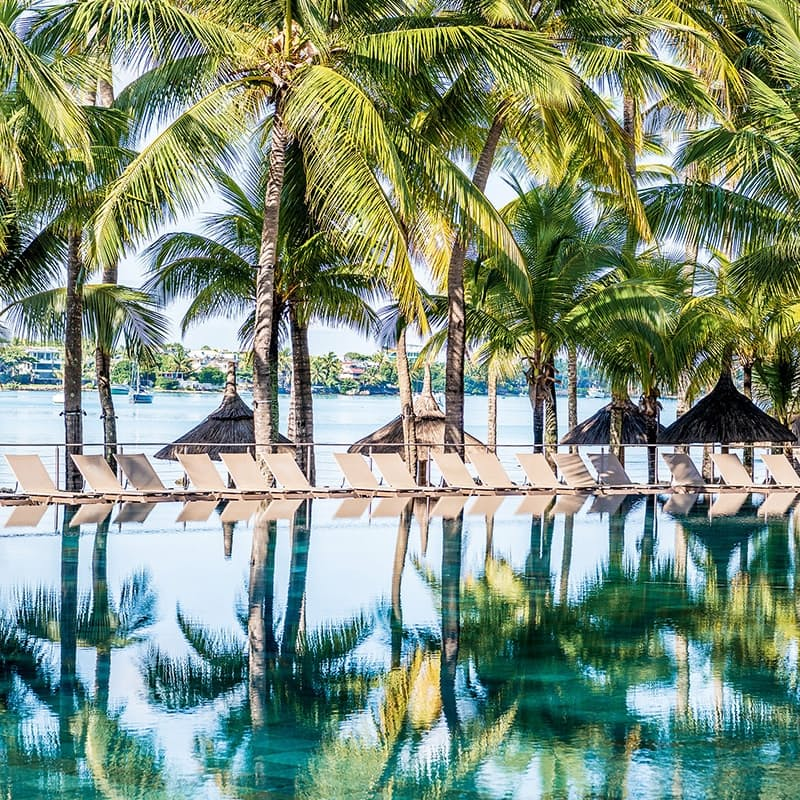 5-Night Stay in the 4* Beachcomber Properties Including Return Flights and Breakfast and Dinner Daily per Person