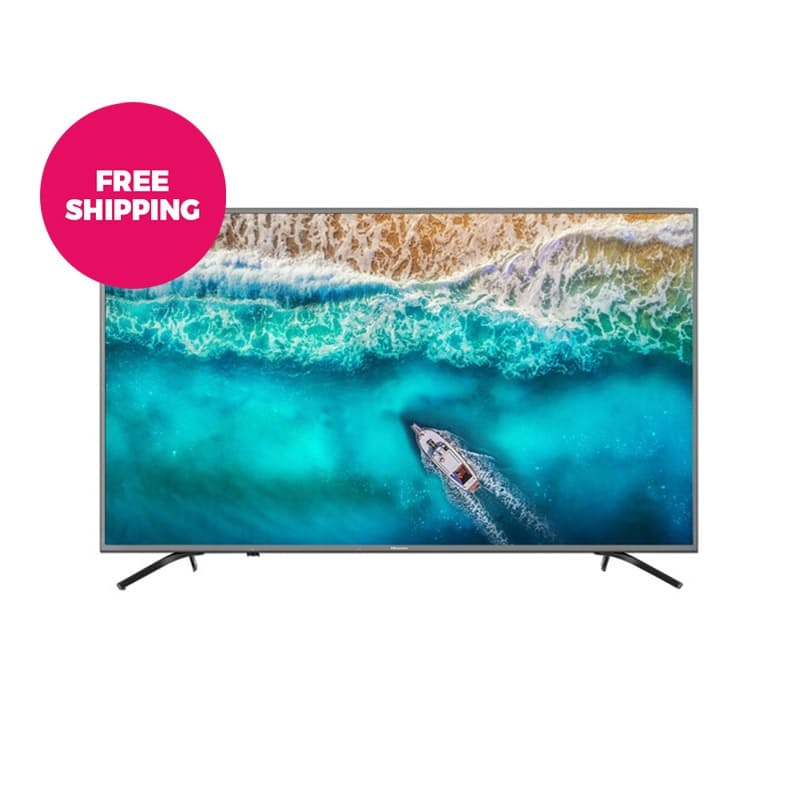 "58"" UHD Android Direct LED Backlit Smart TV with Play Store, Voice Command and Studio Sound"
