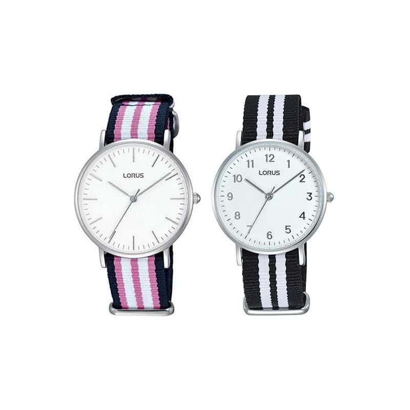 Ladies Analogue Watch with Nylon Strap