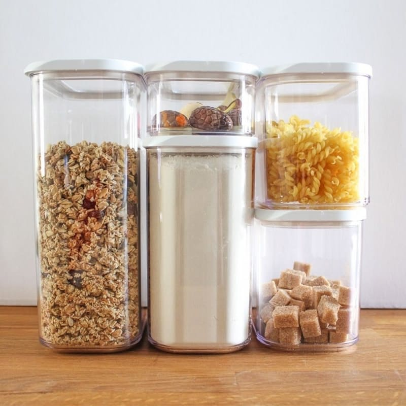 5 Piece Easy Lock Storage Container Set