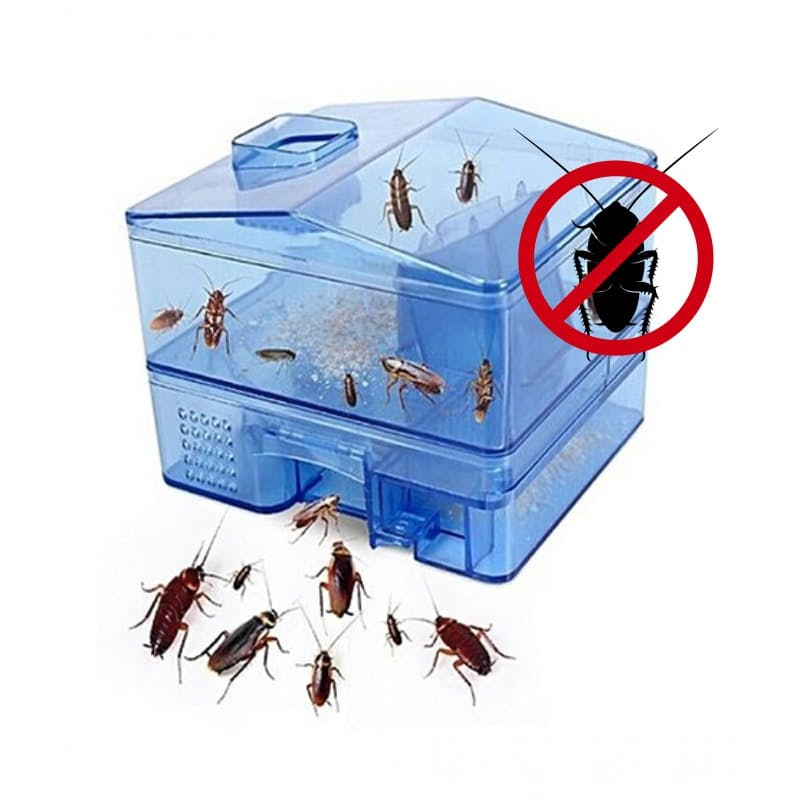 Pack of 2 Non-toxic Pest Control Cockroach Traps