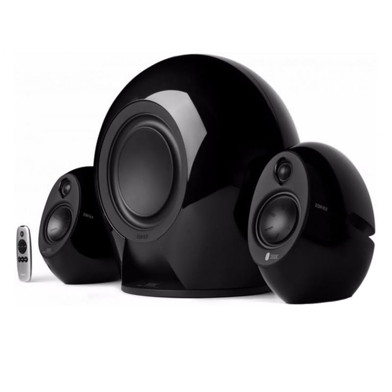 E235 THX certified 2.1 Active Bluetooth Speaker System with Stands (Multiple Colours Available)