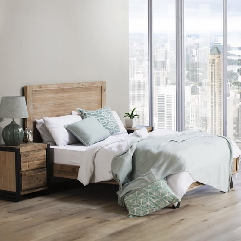 Bed Base with Headboard