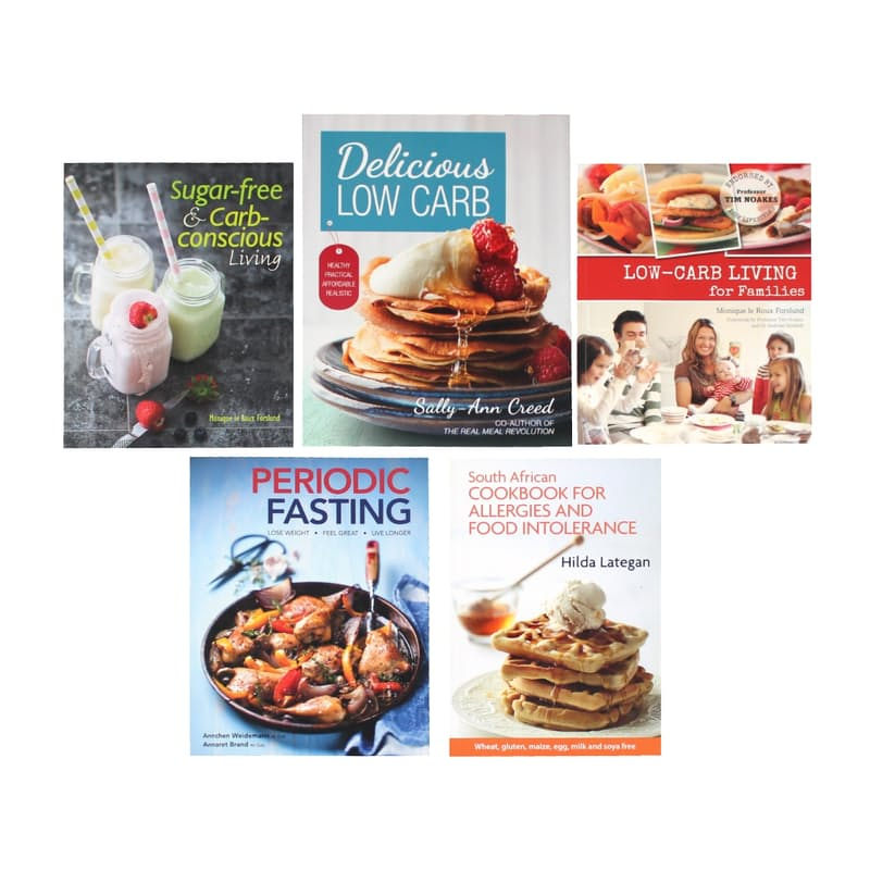 Pack of 2 Recipe Books (Multiple Options Available)