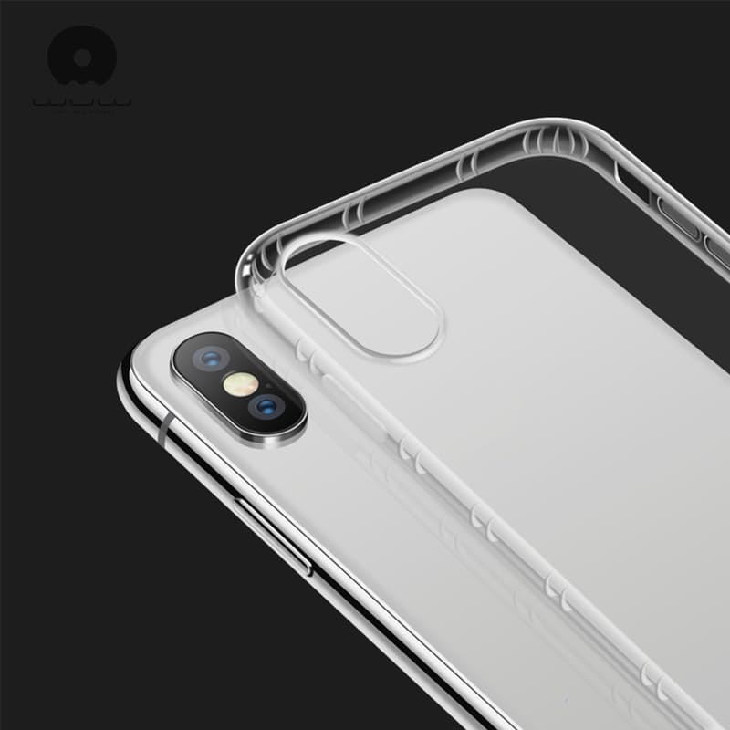 Clear Bumper Case for iPhone (iPhone 6 to 11 Pro Max)