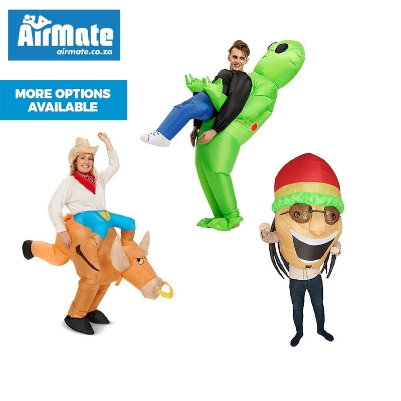 Fun Inflatable Adult Costumes (More Options Available)