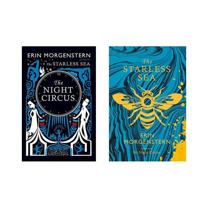 Pack of 2 Book, Night Circus Special Edition (Hard Cover) and The Starless Sea (Paperback)