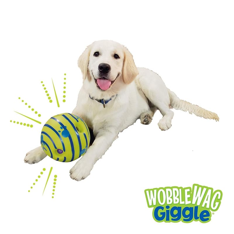 Interactive Dog Toy with Fun Sounds (No Batteries Required!)