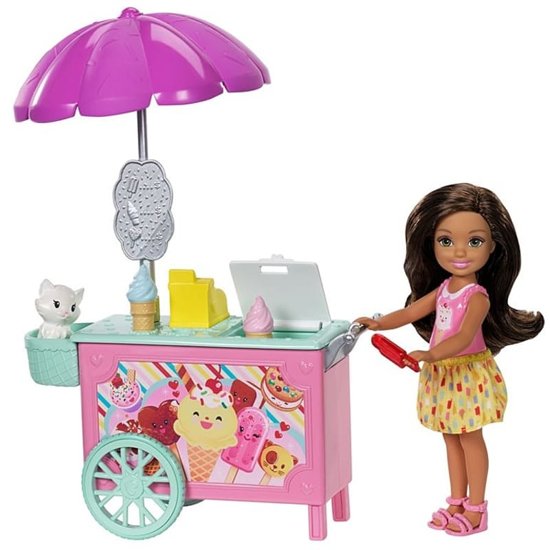 Club Chelsea™ Doll and Ice Cream Cart