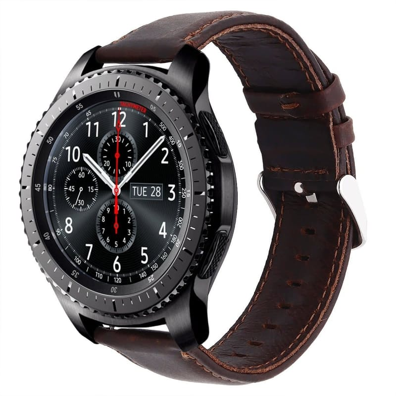 Leather Replacement Strap for Samsung S3 Frontier/Classic
