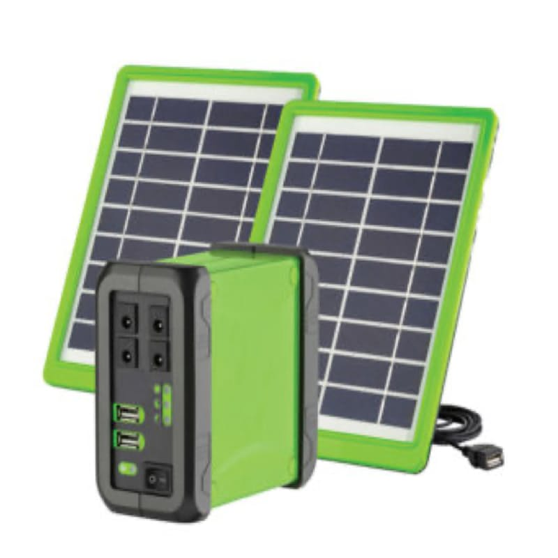 Portable Solar PV DC Kit with 50W/h or 79W/h Lithium-ion Battery