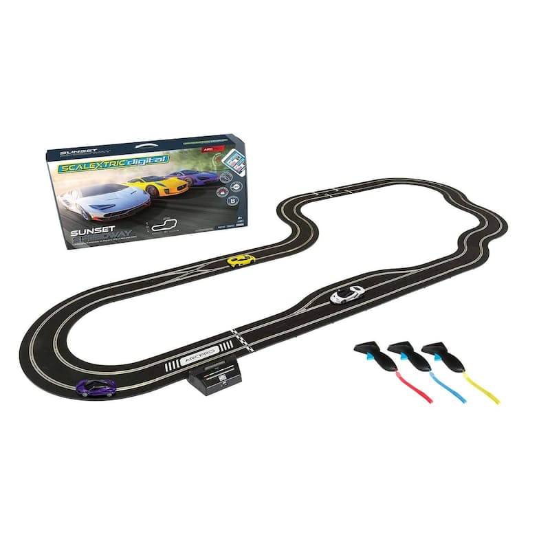 Arc Pro Sunset Speedway Digital Racing Set