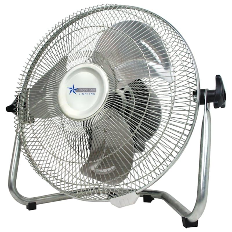 "12"" Chrome Floor Fan"