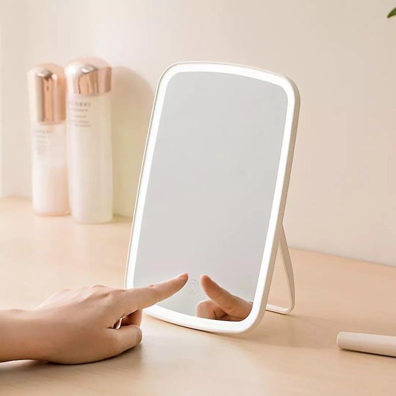 Portable Touch LED Light Folding Makeup Mirror