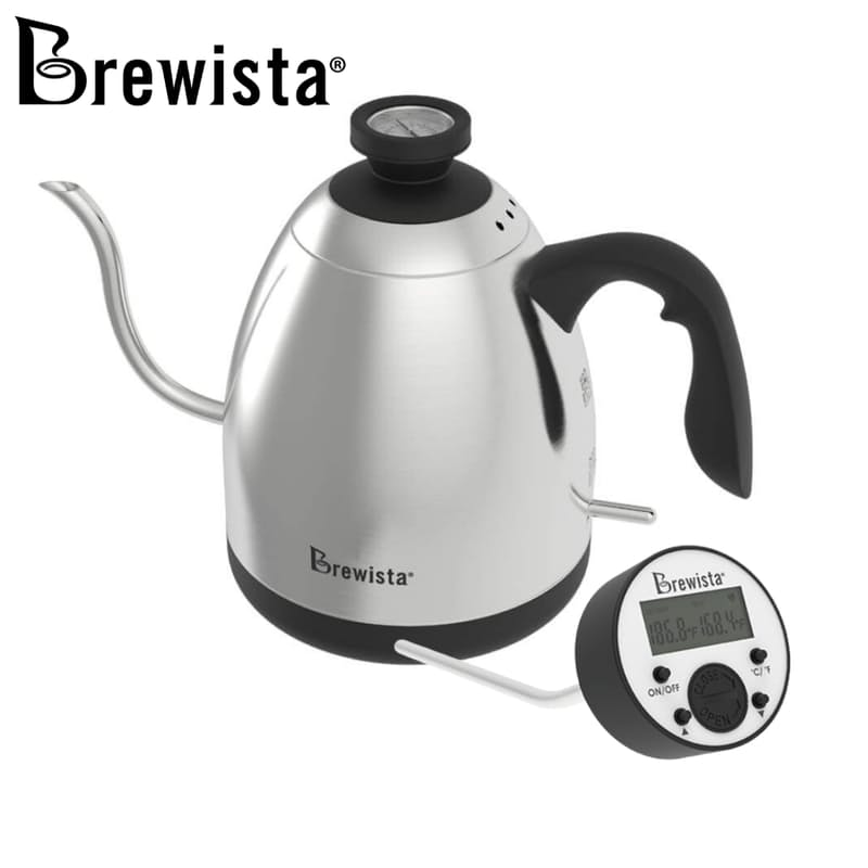 Smart Pour 1.2L Electric Switch Kettle with Digital Temperature Gauge