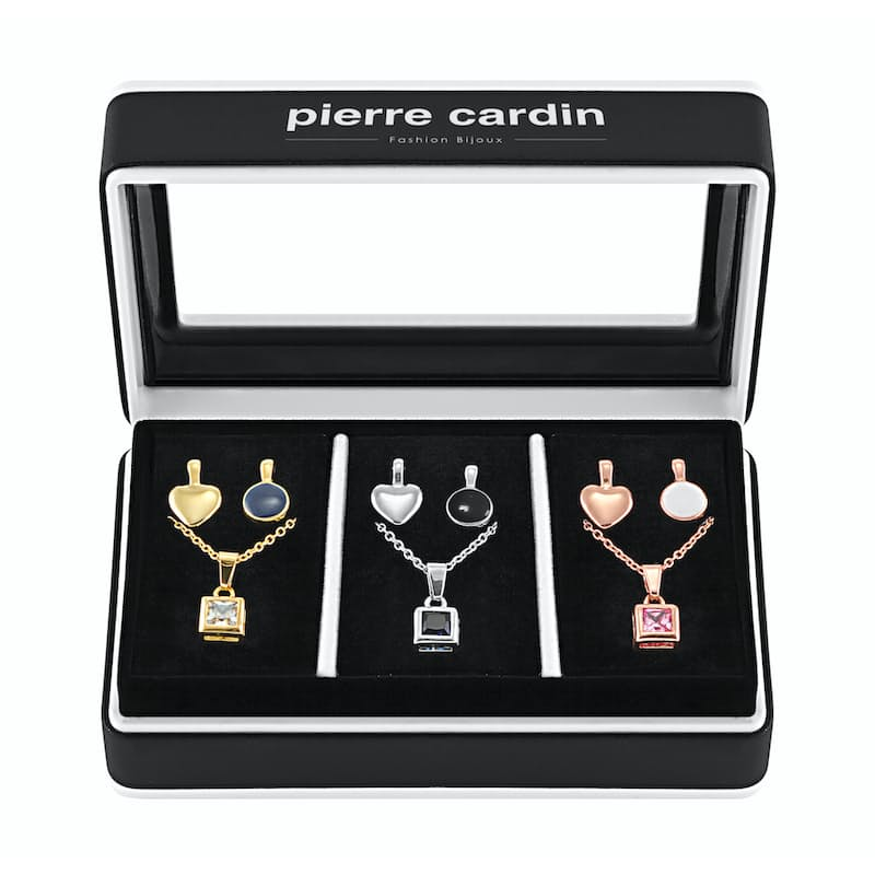Ladies Interchangeable Pendant Necklace Set