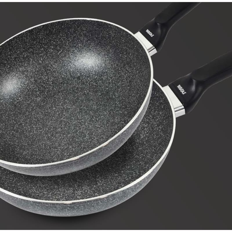 20cm or 24cm Easy Cooking Forged Aluminium Pan Set