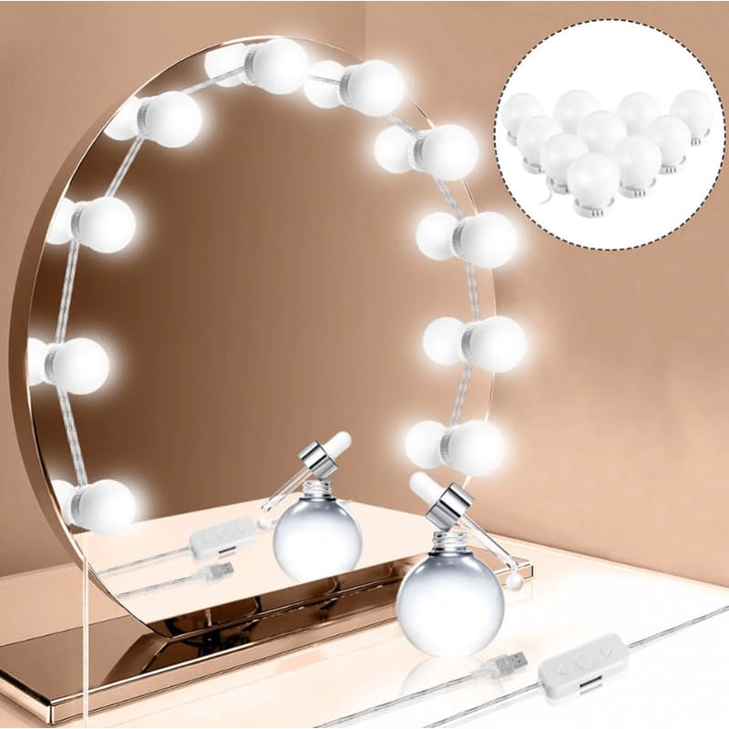 Vanity Mirror Lights Multiple Light Settings