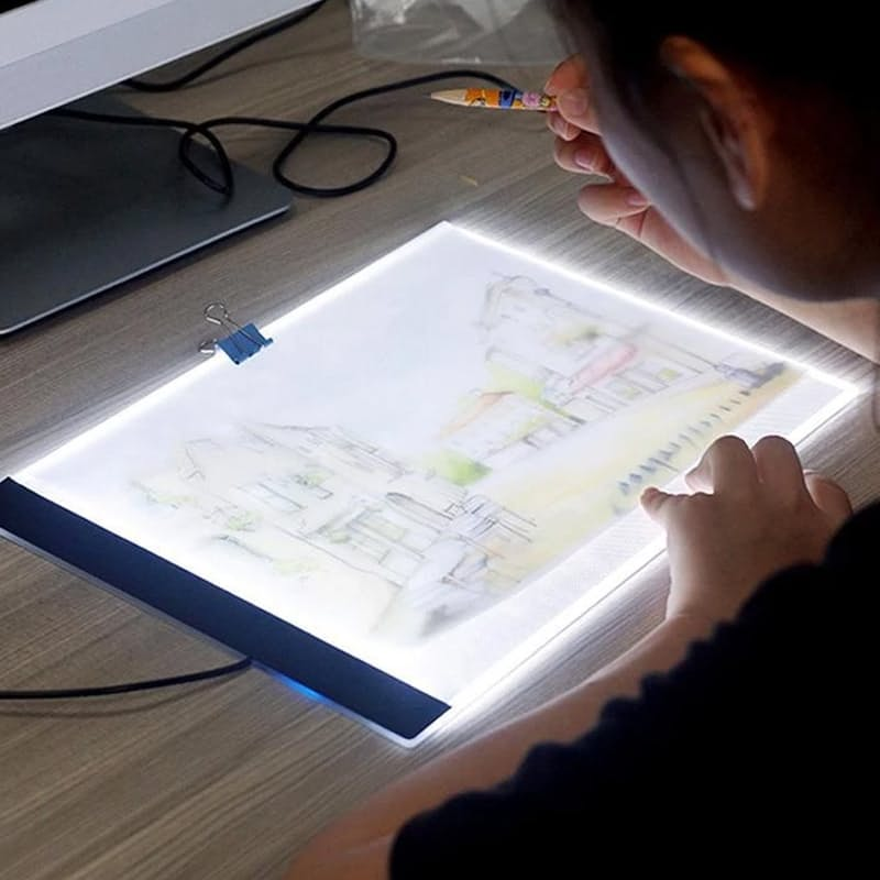 LED Artist Tracing Table (31x24cm - A4)