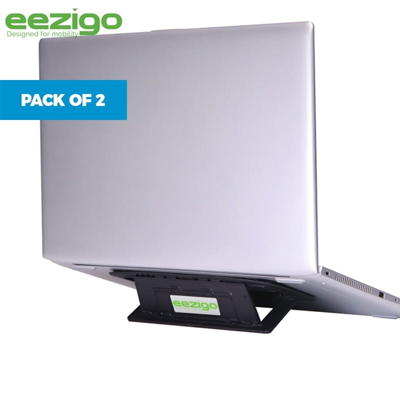 Pack of 2 Eco-friendly Portable Laptop Stand (Made with Recycled Plastic)