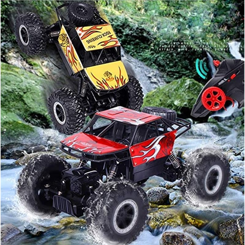 2.4Ghz 1/14 Remote Controlled Off Road Rock Crawler Vehicle