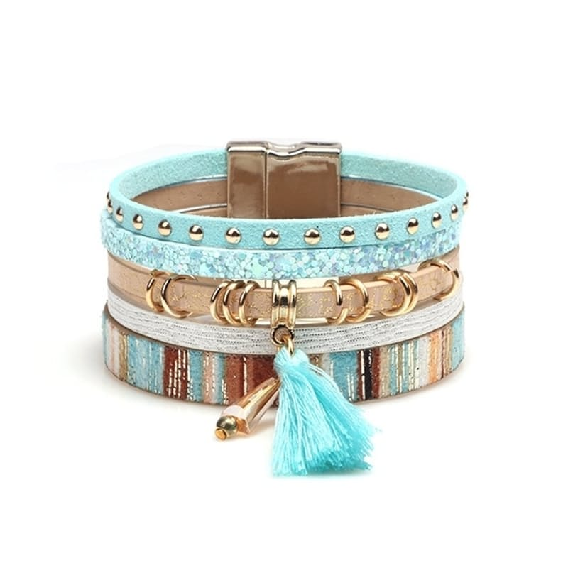 PU Leather Bohemian Style Bracelets