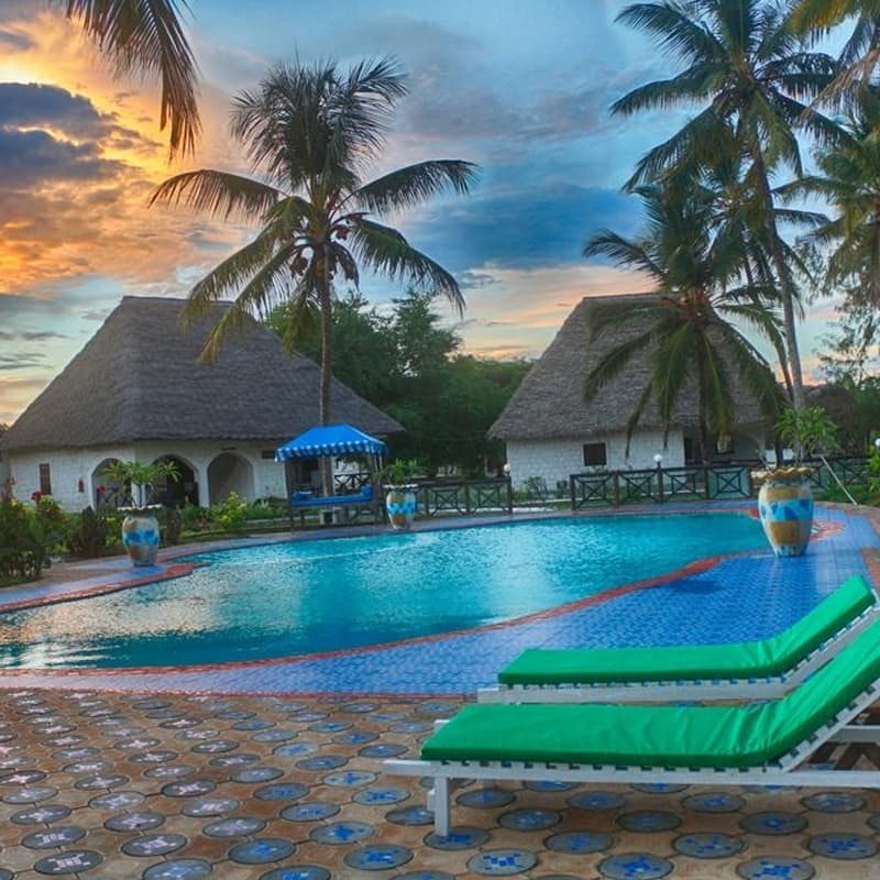 5-Night Stay in 3* Mermaids Cove Beach Resort & Spa in Zanzibar Including Return Flights, Approximate Taxes, Transfers and All Meals per Person