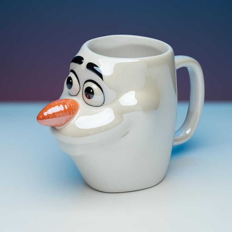 Disney Frozen 2 Olaf Shaped Mug