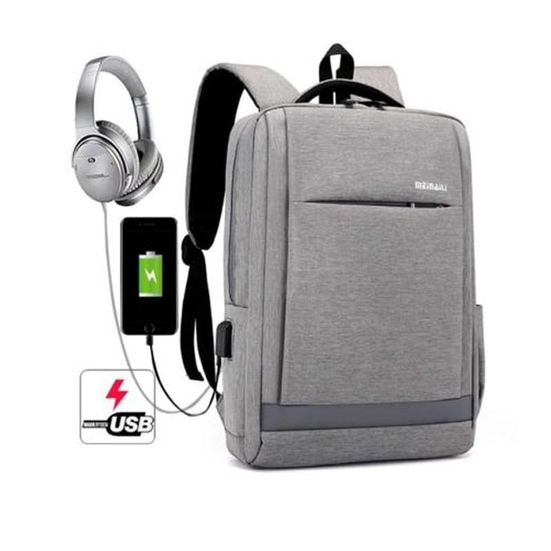 """17"""" Multi-Functional Laptop Backpack with USB Charging Port"""