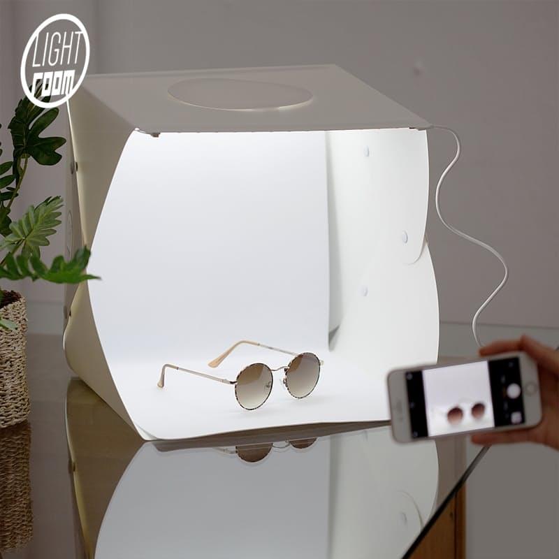 Mini Portable Photo Studio Light Box with White Inner (Multiple sizes available)