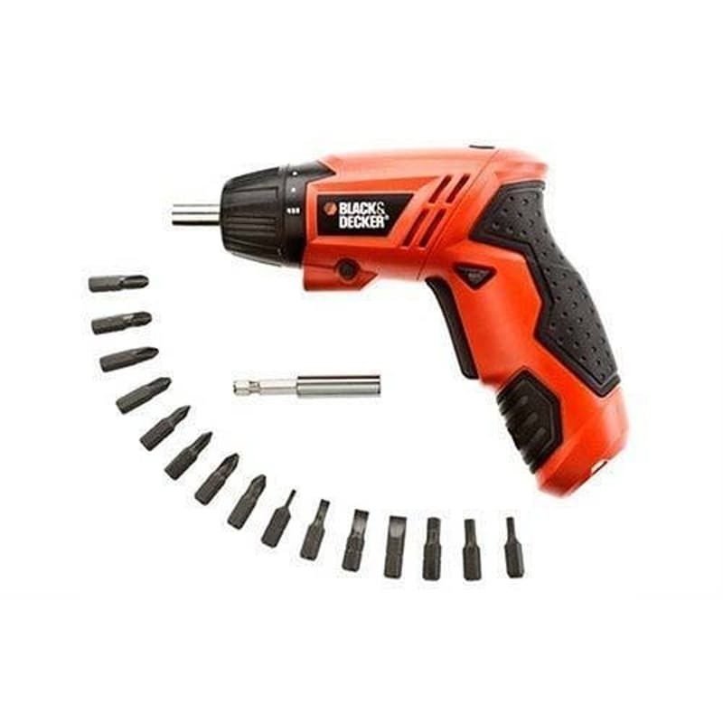 4.8V NI-CD Cordless Screwdriver with 15 Screw Bits