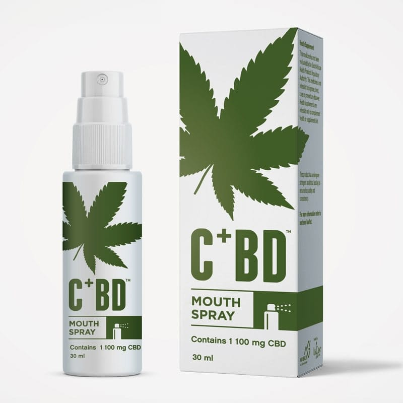1100mg CBD Mouth Spray (30ml)