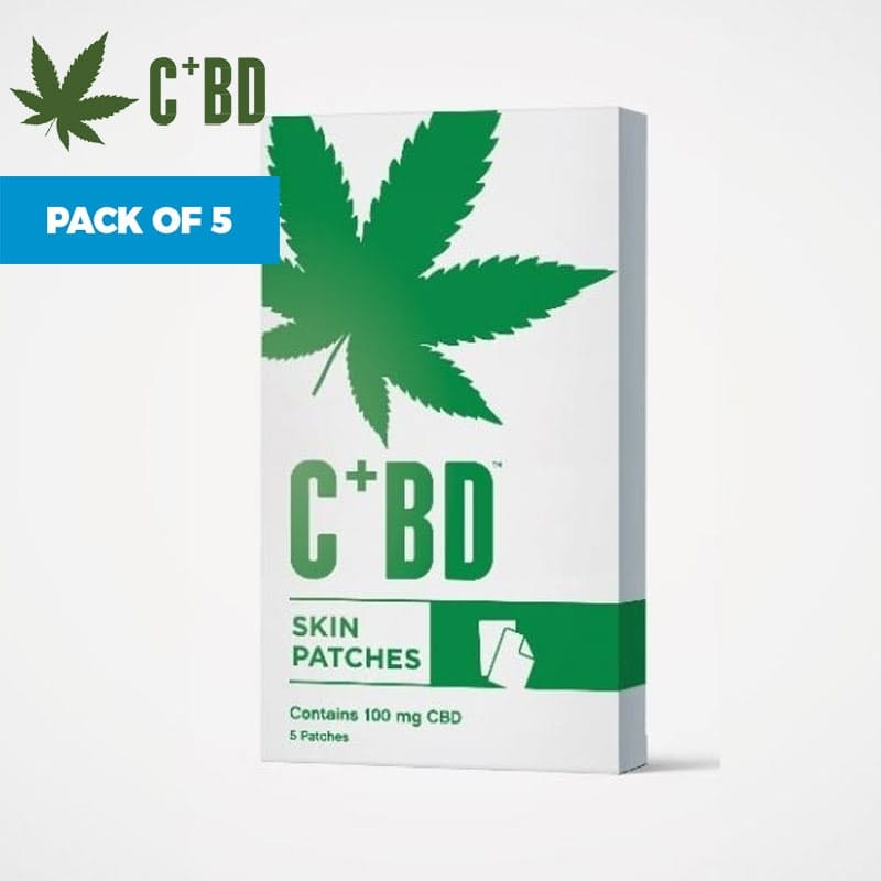 Pack of 5 CBD Skin Patches (100mg)