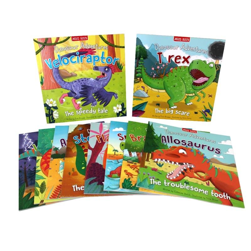Dinosaur Adventures Bundle (10 Books)