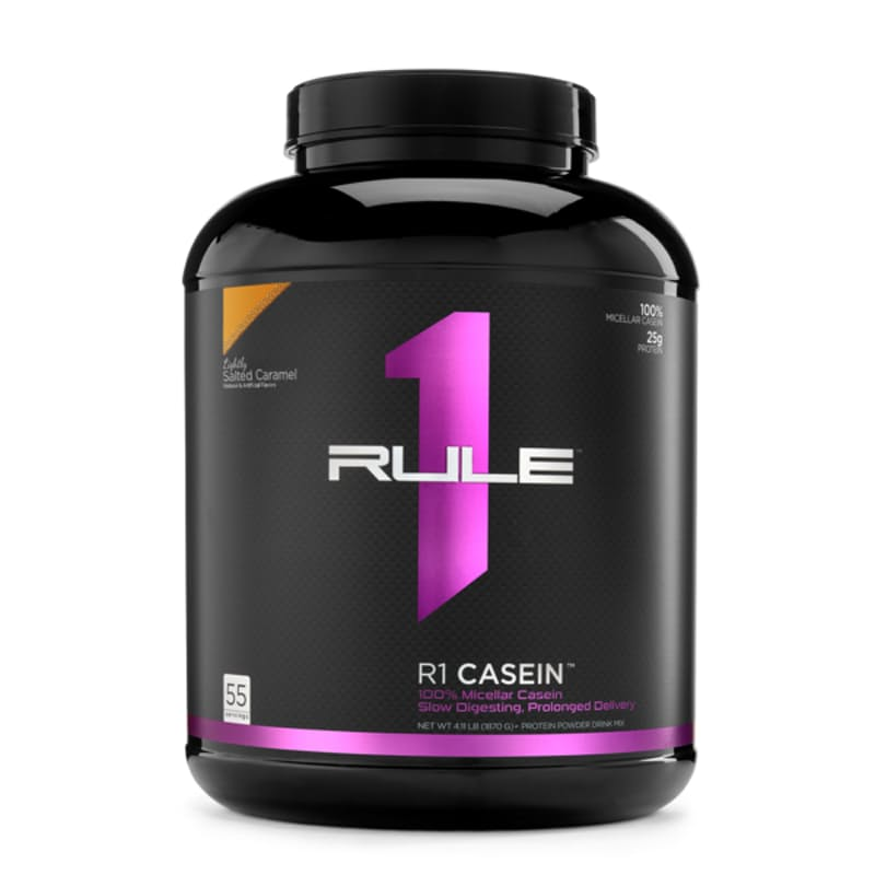 R1 Casein Chocolate Fudge (Slow-Release Micellar Casein Formula) 55 Servings