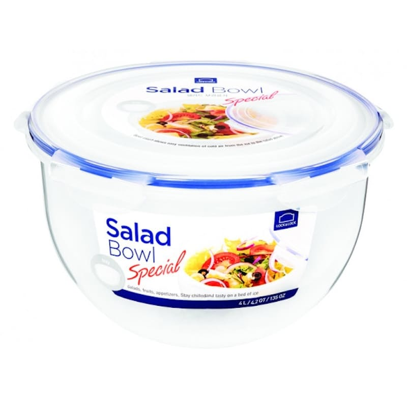 4-Litre Salad Bowl with Tray